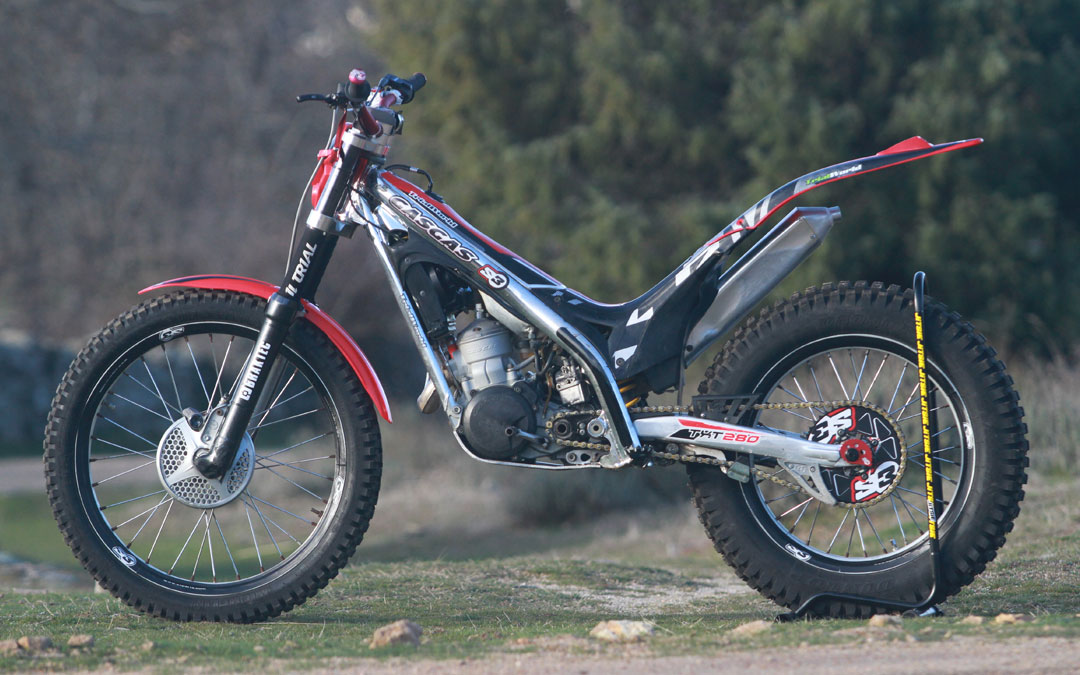 alquiler gasgas trial offroad